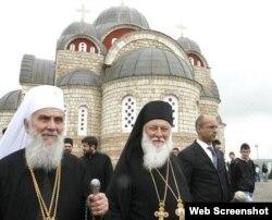Patrijarh Irinej i vladika Filaret, foto: Tanjug