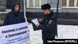 К студенту Данилу Васильеву полиция приехала домой