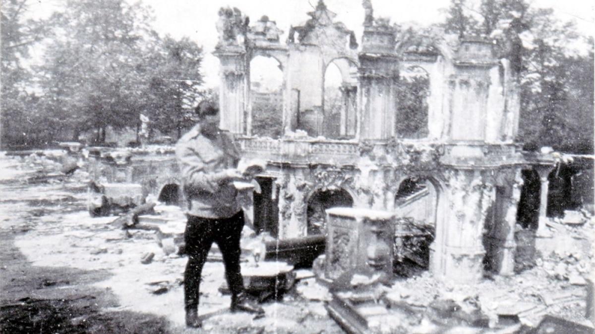 «Сикстинская Мадонна» и 9 мая: как киевлянин в 1945 году нашел уцелевшие картины Дрезденской галереи