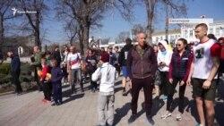 Справа Філонова: «Пробіжка з мером» без мера (відео)