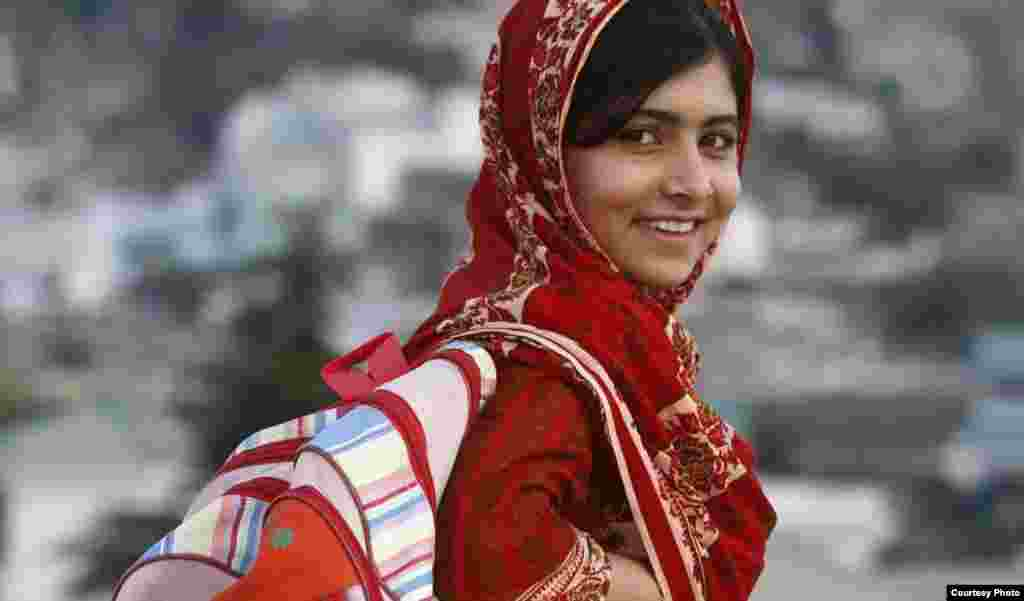 <b>Malala Yousafzai, education-rights campaigner, Pakistan. Recovering from attack.</b> The 14-year-old schoolgirl is known for her courageous work in promoting child rights and education for girls in her native Pakistan. In October, she was shot in the neck and head by Taliban militants on her way home from school in the northwestern Swat district. She is currently recovering in a hospital in Britain.