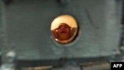 Бишкектеги түрмөлөрдүн биринен тартылган сүрөт. 26-январь, 2012-жыл.