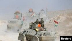 Kurdske snage kod Mosula