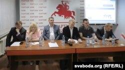У Менску далі старт кампаніі «Права выбару-2015»