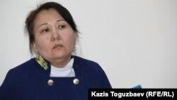 Алматының Алмалы аудандық сотының судьясы Тахлима Ахметова. 29 желтоқсан 2015 жыл.