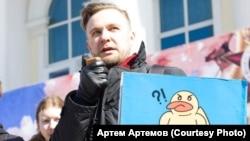 Координатор штаба Навального в Тюмени, задержанный перед митингом против пенсионной реформы