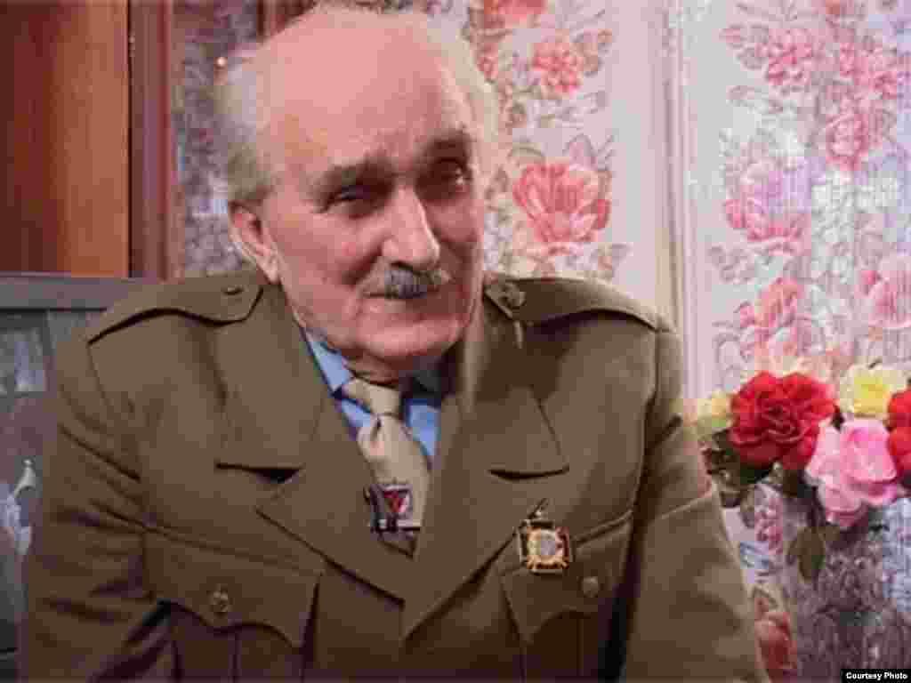 Олександр Петрич, учасник подій у 3-й зоні, які він описав у своїй поемі про Норильське повстання (фотографії надані кіностудією «Заповіт»)