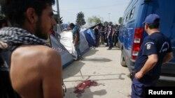Mesto gde je ranjen Sirijac u Idomeniju