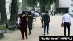 Хиёбони Рӯдакии шаҳри Душанбе. Акс аз бойгонӣ