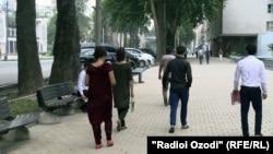 Хиёбони марказии Душанбе