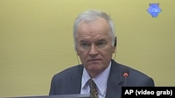 Ratko Mladic Awaits UN War Crimes Verdict video grab 2