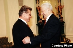 Петр Лучинский и Борис Ельцин