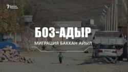 Мигранттар баккан Боз-Адыр