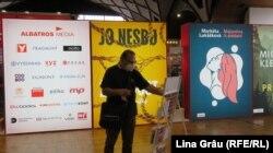 La Târgul de Carte și Festivalul Literar de la Praga 2021.
