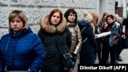 Пикеты возле здания Минздрава в Москве, 4 марта 2020 года
