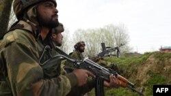 Հնդկաստանի բանակի զինվորականներ Քաշմիրի շրջանում, արխիվ
