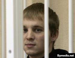 Зьміцер Дашкевіч у судзе, лістапад 2006 году