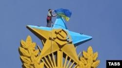Акция на Котельнической. 20 августа 2014 года