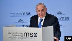Kryeministri izraelit, Benjamin Netanyahu në fjalimin e tij të sotëm në Konferencën për Siguri në Mynih
