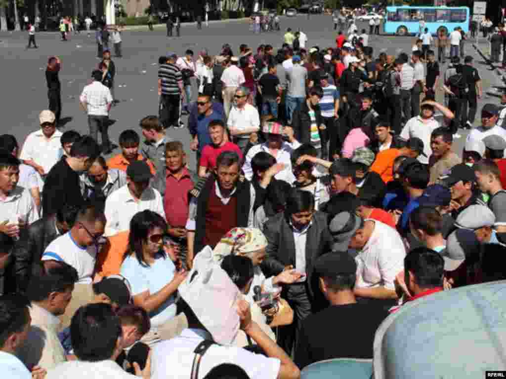 Митингге баш-аягы үч миңдей адам катышканы айтылды.