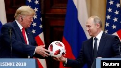 Donald Trump at least got one takeaway from Helsinki.