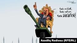 one nation, one motherland, one Dictator! (RFE/RL Azerbaijani Service)