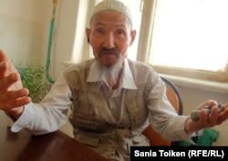 Почетный житель Мангистауского района Жетибай Жылкышиев.