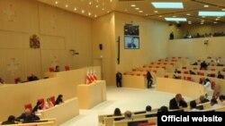 Վրաստանի խորհրդարանի նիստ Քութայիսիում, արխիվ