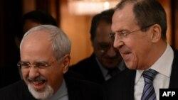 Мохаммад Джавад Заріф і Сергій Лавров