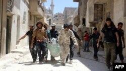 Алепа ў дні канфлікту, 30 траўня 2016 году