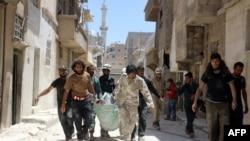 Suriya, Hələb şəhəri, bombardmandan sonra