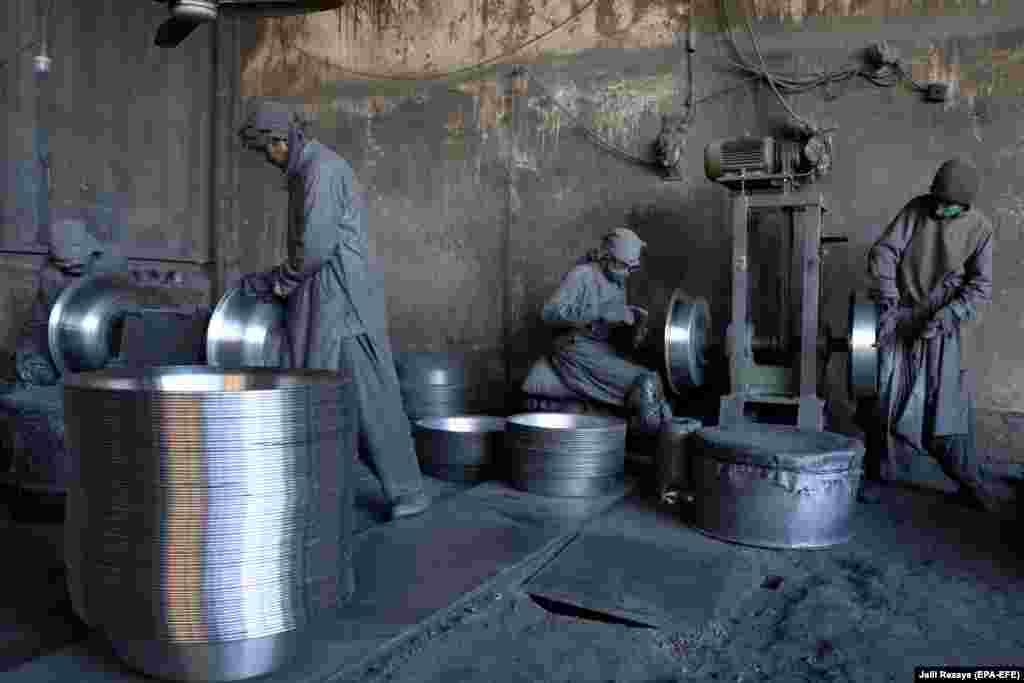 Алюмініевы завод у Гераце, Аўганістан.