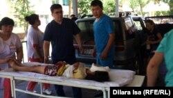 Пациент из Арыси, доставленный в больницу № 1 города Шымкента. 24 июня 2019 года.