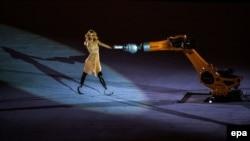 Момент церемонии открытия Паралимпиады в Рио