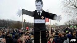 Санкт-Петербургте өткен коррупцияға қарсы акция. Ресей, 26 наурыз 2017 жыл.