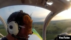 "An image from Swedish Studio Total's video chronicling the ""Teddybear Airdrop"" on July 4."