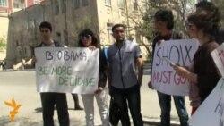 """""""Dalğa""""çıların növbəti """"flashmob""""u"""