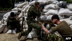 Проросійські бойовики з батальйону «Восток»