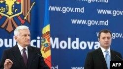 Jerzy Buzek și Vlad Filat