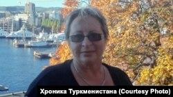 Правозащитница из Туркменистана Наталия Шабунц.