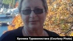 Türkmenistanly tanymal graždan aktiwisti Nataliýa Şabuntsa hüjüm edildi