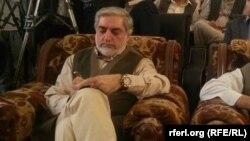 د افغانستان ګډ حکومت اجراییه رییس عبدالله عبدالله