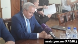 Посол России в Армении Сергей Копыркин в Гюмри, 5 июля 2018 г․