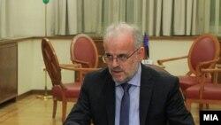 претседателот на Собранието Талат Џафери