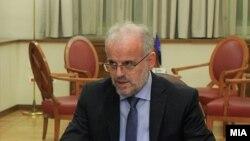 Претседателот на Собранието на Македонија Талат Џафери