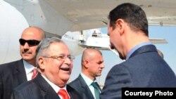 الأسد مستقبلاً طالباني