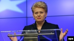 Incumbent Dalia Grybauskaite is expected to win reelection, though its unclear if she will get more than 50 percent of the vote and avoid a runoff.
