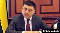 И.о.премьер-министра Украины Владимир Гройсман.