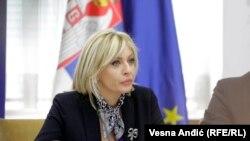 """Ako polovinom tekuće godine nije usvojen izveštaj o skriningu za neko poglavlje, """"onda je jasno da ono teško može da se otvori do kraja godine"""", kazala Jadranka Joksimović"""