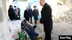 İlham Əliyev bundan əvvəl, fevralın 7-də Şamaxıda olmuşdu